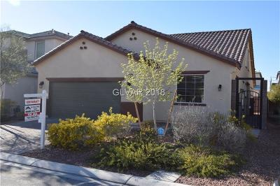North Las Vegas Single Family Home For Sale: 5733 Clear Haven Lane