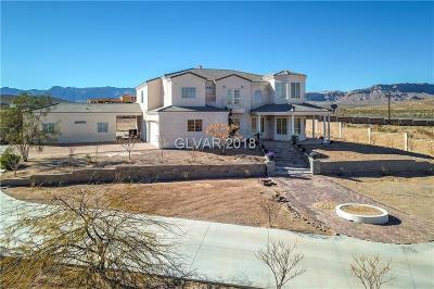 Las Vegas Single Family Home For Sale: 8705 Kulka Road