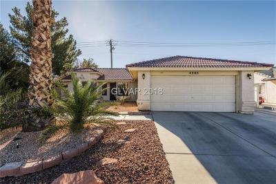 North Las Vegas Single Family Home For Sale: 4305 Shannon Valley Avenue