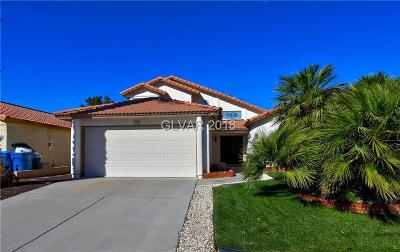 Las Vegas Single Family Home For Sale: 1584 Leatherleaf Drive