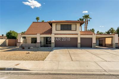 Las Vegas NV Single Family Home For Sale: $359,900