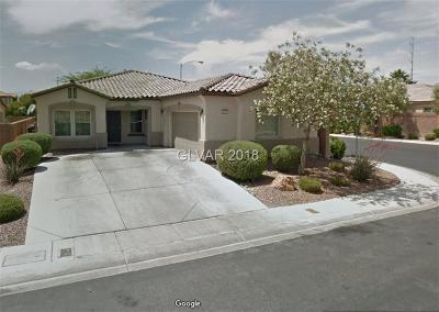 North Las Vegas Single Family Home For Sale: 6313 Black Mane Way