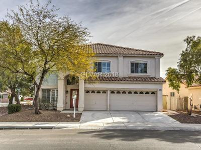 Las Vegas Single Family Home For Sale: 3748 Crescent Canyon Street