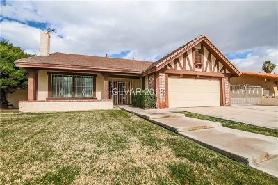 Henderson Single Family Home Contingent Offer: 1852 Muchacha Drive
