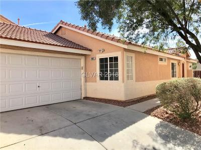 Las Vegas Single Family Home Contingent Offer: 2347 Buffalo Run Avenue