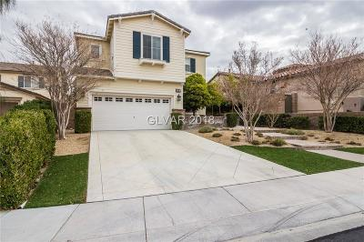 Henderson Single Family Home Contingent Offer: 856 White Sparrow Street