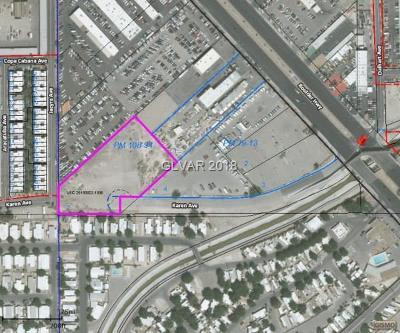Las Vegas Residential Lots & Land For Sale: Boulder Hwy