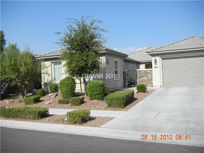 Las Vegas Single Family Home For Sale: 8213 Bay Dunes Street