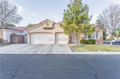 Las Vegas Single Family Home For Sale: 3942 Trapani Place