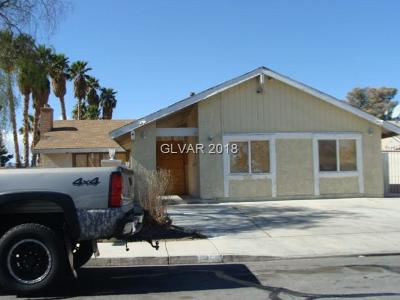 Las Vegas Single Family Home Contingent Offer: 904 Shadow Mountain Place