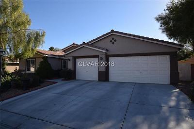 Las Vegas Single Family Home For Sale: 8233 Spanish Meadows Avenue