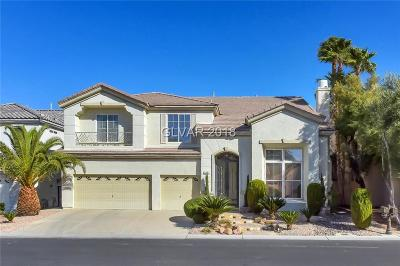 Las Vegas Single Family Home For Sale: 92 Cascade Lake Street
