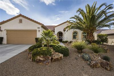 Henderson Single Family Home For Sale: 2233 River Grove Drive