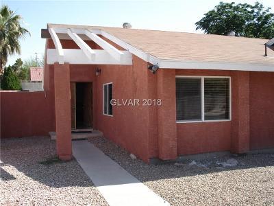 Las Vegas Single Family Home For Sale: 2367 Reno Avenue