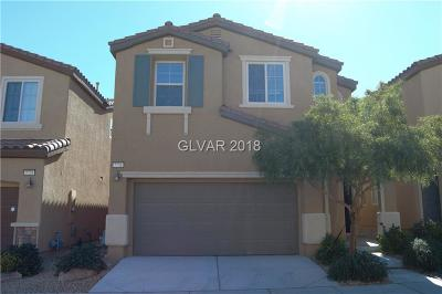 Las Vegas Single Family Home Contingent Offer: 7731 Jasmine Falls Drive