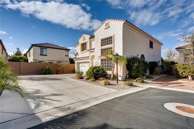 Las Vegas Single Family Home For Sale: 3582 Spoleto Avenue