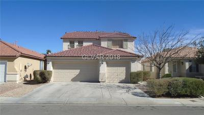 North Las Vegas Single Family Home For Sale: 5718 Indian Springs Street