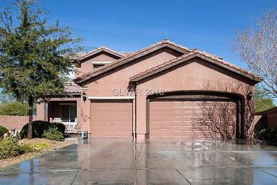 Las Vegas Single Family Home For Sale: 6624 Gray Juniper Avenue