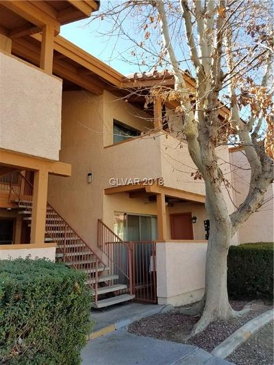 Las Vegas Condo/Townhouse For Sale: 1515 Reno Avenue #B202