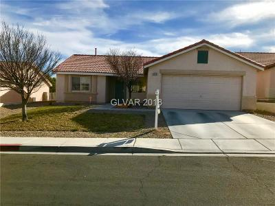 North Las Vegas Single Family Home For Sale: 3205 Knight Hill Place