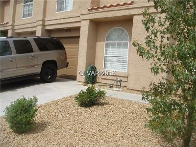 Las Vegas Condo/Townhouse For Sale: 2836 Cool Water Drive