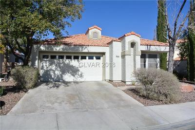Las Vegas Single Family Home Contingent Offer: 8224 Dolphin Bay Court