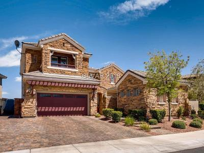 Las Vegas Single Family Home For Sale: 1942 Country Cove Court