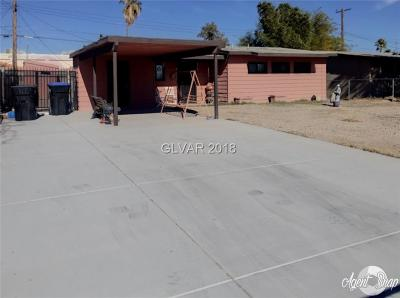 North Las Vegas NV Single Family Home For Sale: $125,000