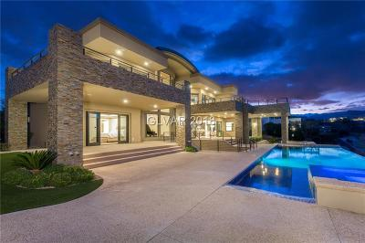 Las Vegas NV Single Family Home For Sale: $5,675,000