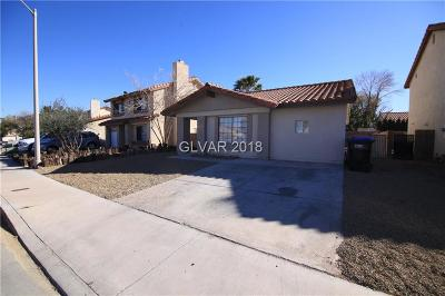 Henderson Single Family Home For Sale: 1748 La Cruz Drive