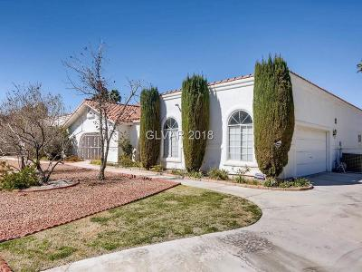 Clark County Single Family Home Contingent Offer: 2768 Casey Drive