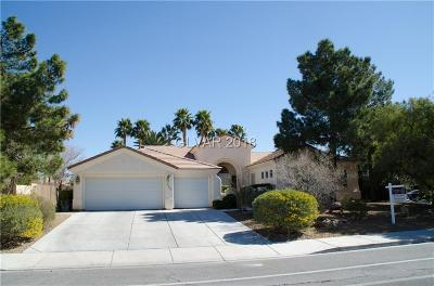 Las Vegas Single Family Home For Sale: 3809 Torrey Pines Drive