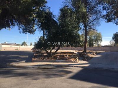 Las Vegas Residential Lots & Land For Sale: 3688 Madrid Street