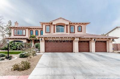 Las Vegas NV Single Family Home For Sale: $669,000