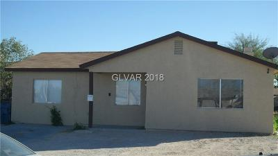 North Las Vegas NV Single Family Home For Sale: $165,000
