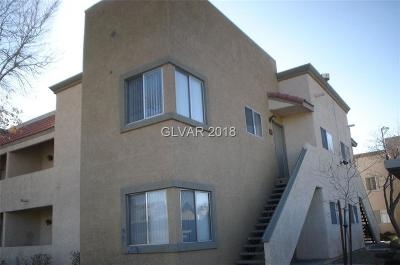 Las Vegas Condo/Townhouse For Sale: 1842 Decatur Boulevard #203