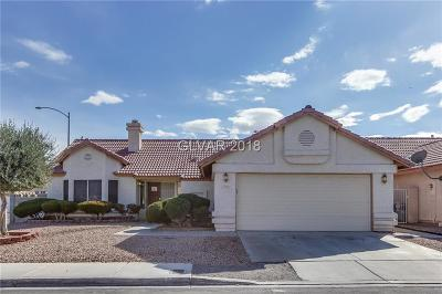 Las Vegas NV Single Family Home For Sale: $254,000