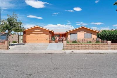 Las Vegas Single Family Home For Sale: 4824 Powell Avenue