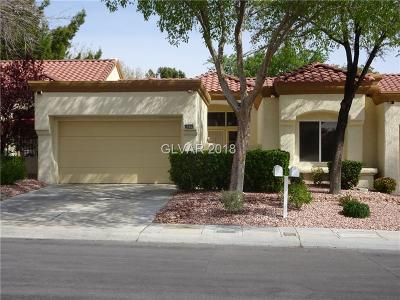 Clark County Condo/Townhouse For Sale: 8604 Desert Holly Drive