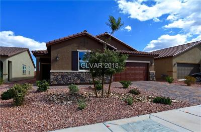 Las Vegas Single Family Home For Sale: 5486 Valonga Street