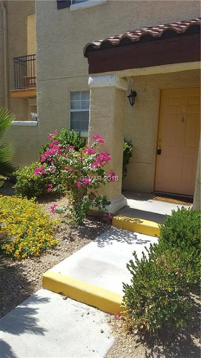 Las Vegas NV Condo/Townhouse Sold: $105,000