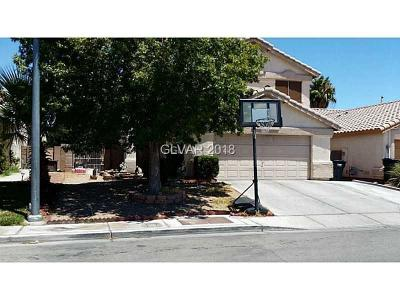 North Las Vegas Single Family Home For Sale: 4704 Possum Berry Lane