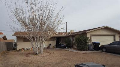 Clark County Single Family Home Contingent Offer: 1424 Mezpah Drive