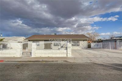 North Las Vegas Single Family Home For Sale: 2036 Bassler Street
