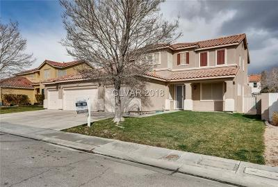 North Las Vegas Single Family Home For Sale: 912 Stable Glen Drive