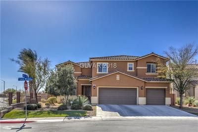 North Las Vegas Single Family Home For Sale: 2405 Coral Mist Place
