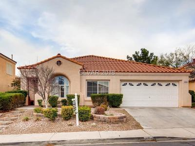 Henderson Single Family Home For Sale: 2013 Rainbow View Street