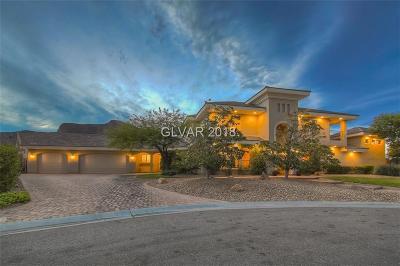 Las Vegas Single Family Home For Sale: 4339 Maltese Crest Circle