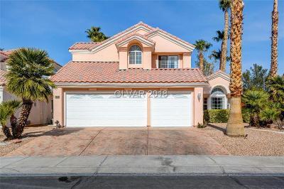 Las Vegas Single Family Home Contingent Offer: 2936 Cape Verde Lane