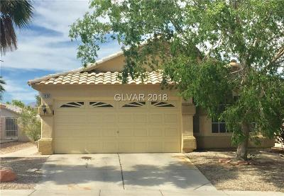 North Las Vegas Single Family Home For Sale: 1536 Gaber Court